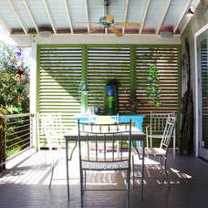 Eclectic Patio by Adam Breaux