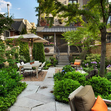 Traditional Patio by Rugo/ Raff Ltd. Architects