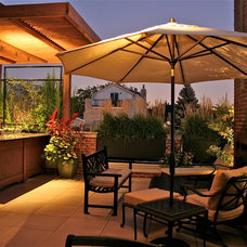Modern Patio by Chicago Specialty Gardens, Inc.