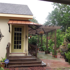 Traditional Patio by Interiors with Attitude, LLC