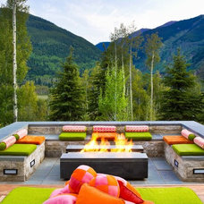 Contemporary Patio by Jason Dewey Photography