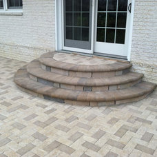Contemporary Patio by Ryan's Landscaping Hanover, Pa Patios & Walls
