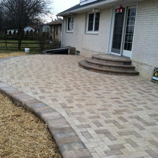 Contemporary Patio by RYAN'S LANDSCAPING - PAVERS PATIOS HANOVER PA