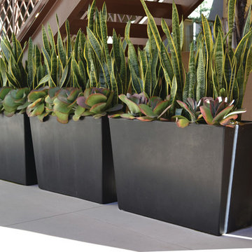 Landscape Containers, Planters and Pottery