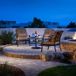 75 Beautiful Southwestern Concrete Paver Patio Pictures Ideas January 2021 Houzz