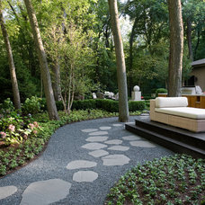 Contemporary Exterior by Fredman Design Group