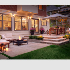 Transitional Patio by McNeill Photography