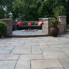 Traditional Patio by King's Material, Inc.