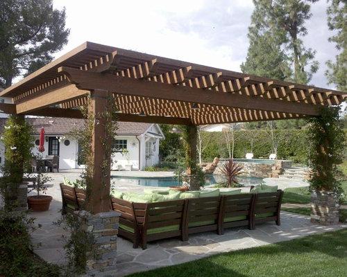 SaveEmail - Shade Pergola Design Ideas & Remodel Pictures Houzz