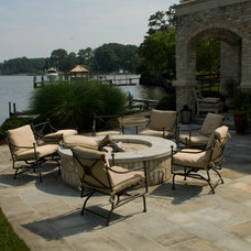 Traditional Patio by Edward Gosman & Associates Inc