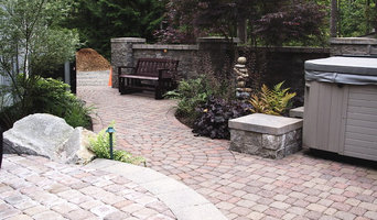 Landscaped Courtyard with Pavers and Hot Tub