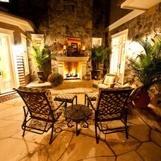 Traditional Patio by Browne and Associates Custom Landscapes