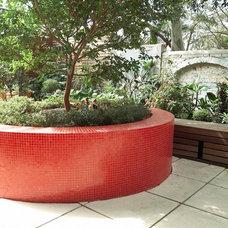 Modern Patio by Scott Weston Architecture Design PL