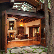 Rustic Entry by Kerr Construction, Inc.