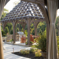 Contemporary Patio by Institute of Classical Architecture & Art - Texas