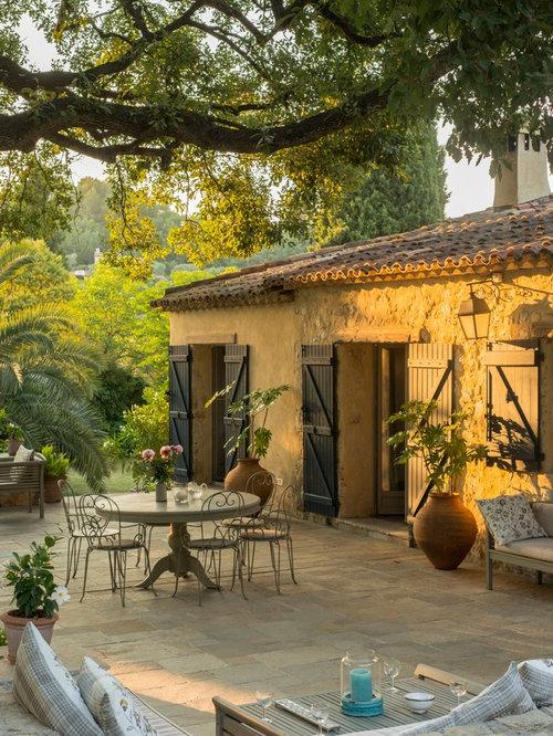 Ideas para patios dise os de patios r sticos en francia for Patios rusticos