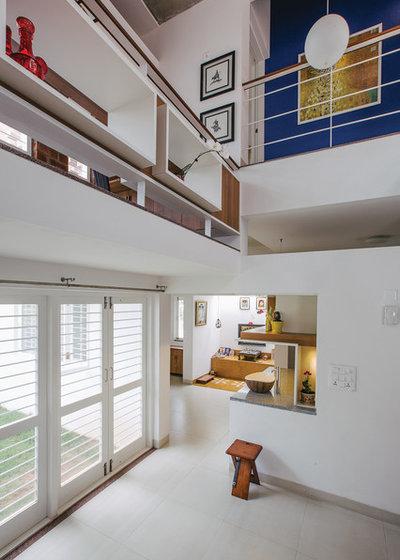 Contemporary Veranda by Gaurav Roy Choudhury Architects