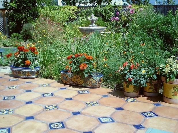 Piastrelle da esterni e giardini piastrellati