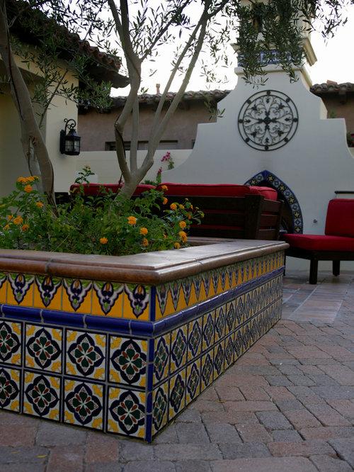 Backyard Tile Houzz