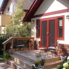 Traditional Patio by 2 Tru Carpenters LLC