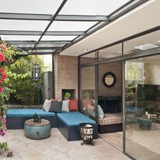 Contemporary Patio by Taylor Jacobson Interior Design