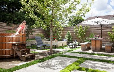 Backyard Ideas: Writer's Studio and a Japanese-Inspired Garden