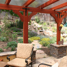 Traditional Patio by Nature by Design