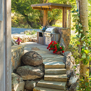 Lazy Heart Ranch   Outdoor Grill