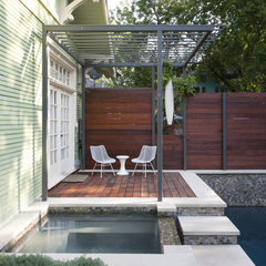 contemporary patio by Loop Design