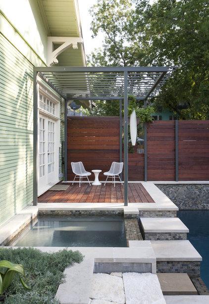Contemporary Patio by Loop Design