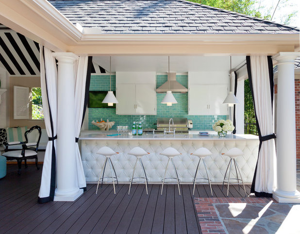 Classique Chic Terrasse Et Patio By Tobi Fairley Interior Design