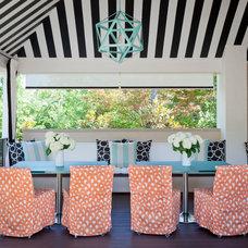 Transitional  by Tobi Fairley Interior Design