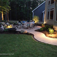 Traditional Patio by Acorn Ponds & Waterfalls