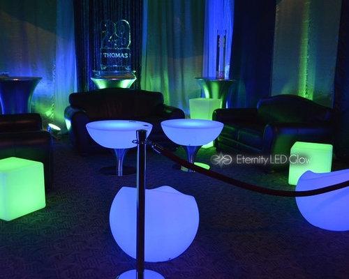 Led Light Up Furniture U0026 Light Up Cube Seat