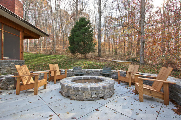 Traditional Patio by E. Miles Custom Builder, Inc.