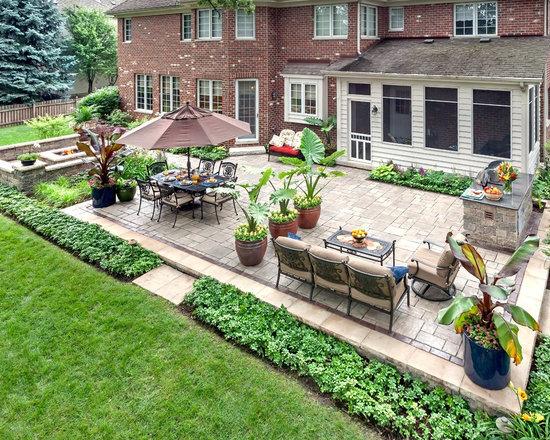 brick patio ideas | houzz - Brick Patios Ideas