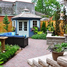 Traditional Patio by Home Garden Solutions