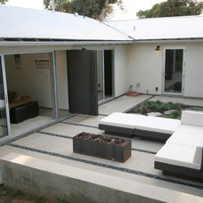 Modern Patio by The Brown Studio