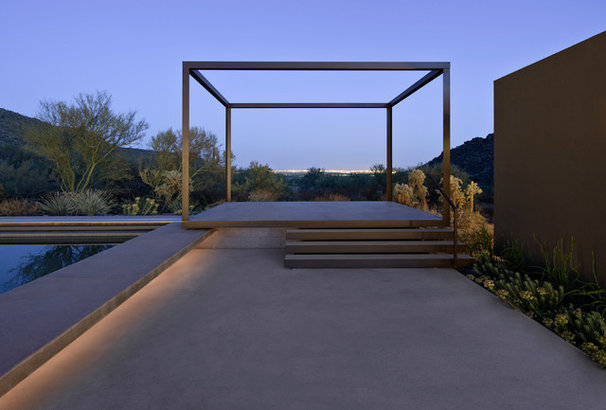 Modern Patio by Ibarra Rosano Design Architects