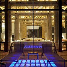 Contemporary Patio by 186 Lighting Design Group - Gregg Mackell