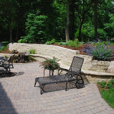Traditional Patio by Country Landscapes, Inc.