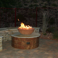 Contemporary Patio by Green Planet Landscaping Pools & Spa