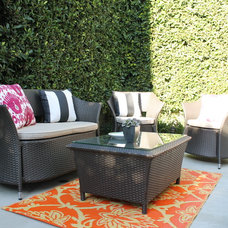Transitional Patio by Madison Modern Home