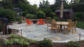 Lititz Quartzite Natural Stone Patio