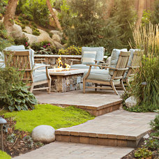 Traditional Patio by Landform Design Group