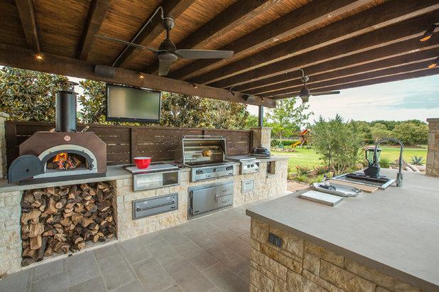 comment aménager une cuisine d'extérieur sur la terrasse - Amenager Une Cuisine Exterieure