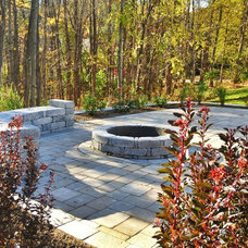 Traditional Patio by Mulligan's Landscape and Design, LLC