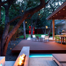 Contemporary Landscape by austin outdoor design
