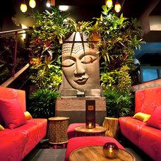 Asian Patio by Tru Vine Design