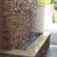 Traditional Patio by M S International, Inc.
